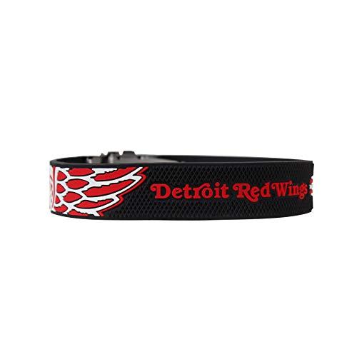 BRAYCE® Armband Detroit Redwings I NHL® Trikot am Handgelenk Größen selbst anpassen I Armband verstellbar mit Puck Haptik als Geschenk für Eishockey Fans & Eishockeyspieler