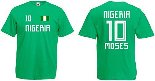 Nigeria Moses T-Shirt Trikot WM-2018 Look NEU