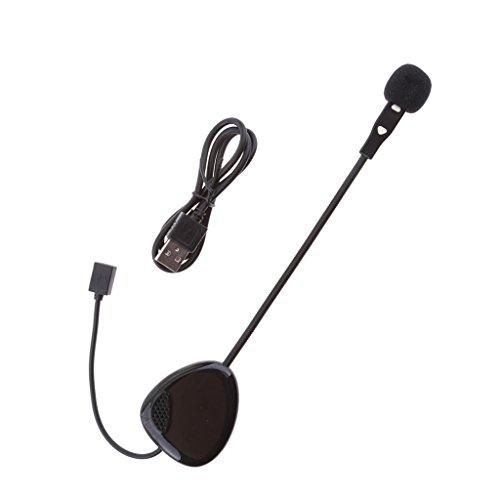 Shiwaki V1-1 Casco Auriculares Bluetooth Intercomunicador Interfono Altavoz