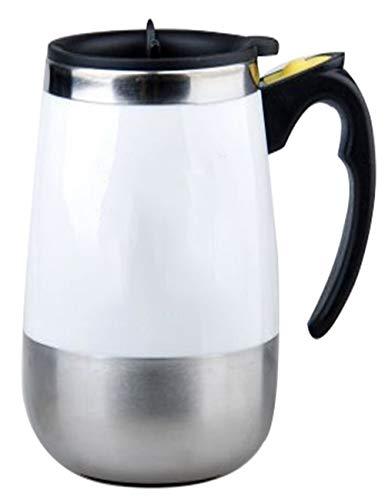 SJQ-coffee pot CafetièRe/Tasse à Café en Acier Inoxydable Moderne 304 - avec Tasse AimantéE à Agitation Automatique USB, 400 ML, Convient pour la Maison, Le Bureau Ou Un Bar, Multicolore