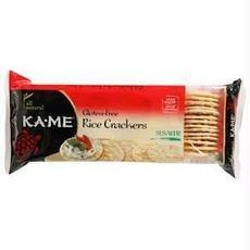 Ka-Me B26802 Dedication Ka-me Rice Sesame -12x3.5oz Crunch Sales Crackers