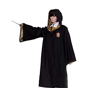 Cosplay Costumes Potter Outfits Magic Robe Cape Suit ...