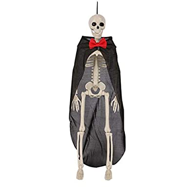 15.75x3.94in Posable Halloween Skeletons, Full ...