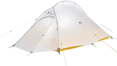 Ankon Pop Up Tent Beach Tent Tents for Camping Tent Tent Nylon Silicone Portátil Coloque al Aire Libre Camping Tiendas de campaña Campaña Camping (Color : White, Size : 210x130x105cm)