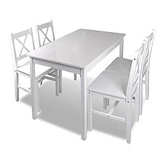 Weiß Holztisch
