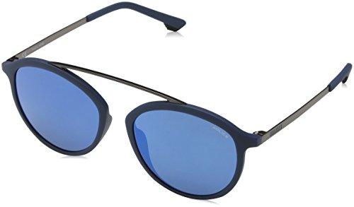 Police Herren SPL496M Sonnenbrille, Matt Full Blue, 0