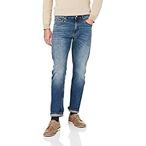 Calvin Klein Jeans Men's Slim Jeans, Houston Mid Blue