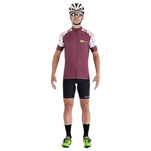 Camisa Ciclismo RH-33 Vinho Tamanho:P