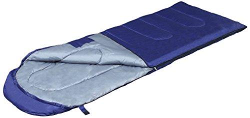 IRISPLAZA(アイリスプラザ) 寝袋 シュラフ マミー型 収納袋付き 最低使用温度-10度 ネイビー E200 ネイビー