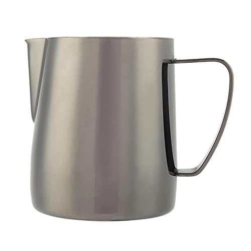 Taza para hacer espuma, taza de café de acero inoxidable de