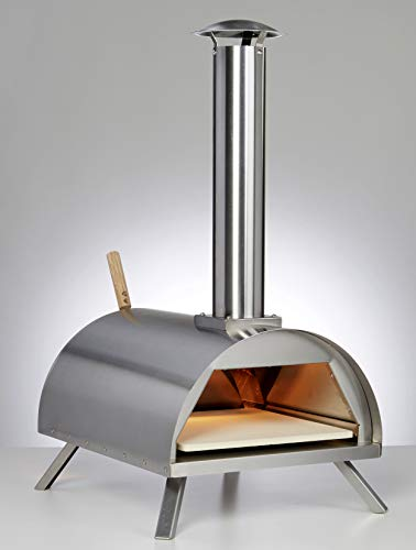 Wood Pellet Pizza Oven wppokit WPPO1, Portable, Stainless Steal
