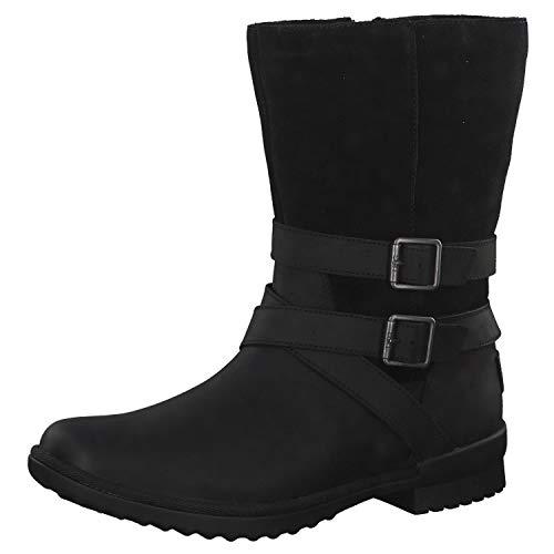 UGG Women's W Lorna Boot, Black, 8 M US