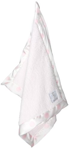 Little Giraffe Chenille New Dot Mini Blanket (Pink)