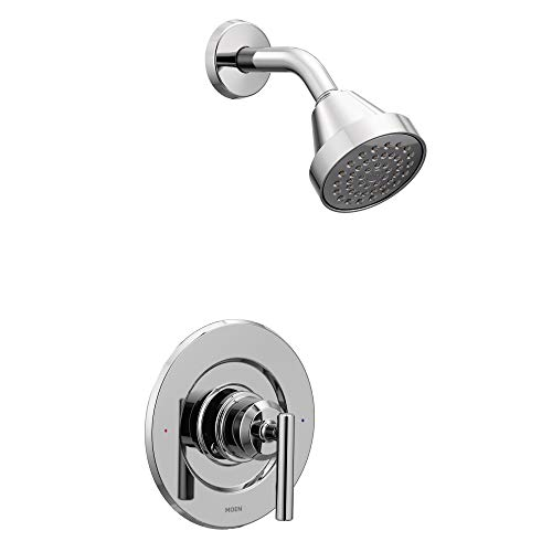 Moen T2902EP Gibson Posi-Temp Pressure Balancing Eco-Performance Modern Shower Only Trim Valve Required, Chrome