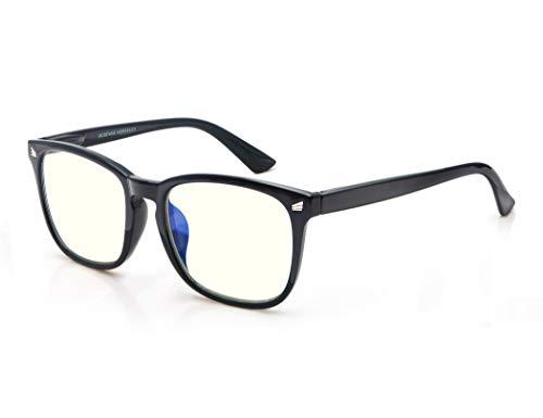 Gafas de Lectura 0.5 Anti luz Azul/Gafas de Ordenador para Hombres y Mujeres,Gafas con Filtro Luz Azul,Anti-UV,Anti-Fatiga Visual,Proteccion para Pantalla/TV/Tablet/Movil/Juegos/Smartphone