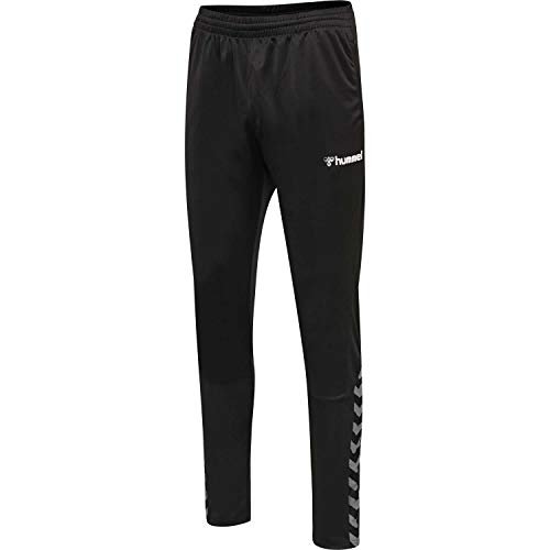 hummel Jungen hmlAUTHENTIC Kids Training Pant, Black/White, 152