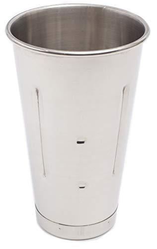 eHomeA2Z Malt Cup Stainless Steel Ice Cream Milkshake Commercial Grade 30 oz (1)