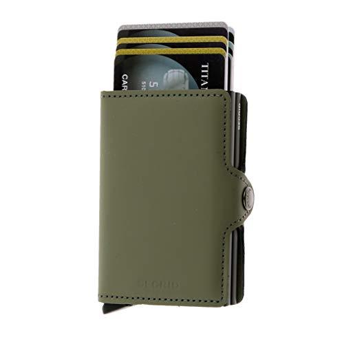 Secrid TM-Green Twinwallet Matte Leather