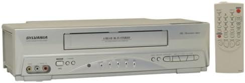Sylvania 6260VF 4 Head VCR product image