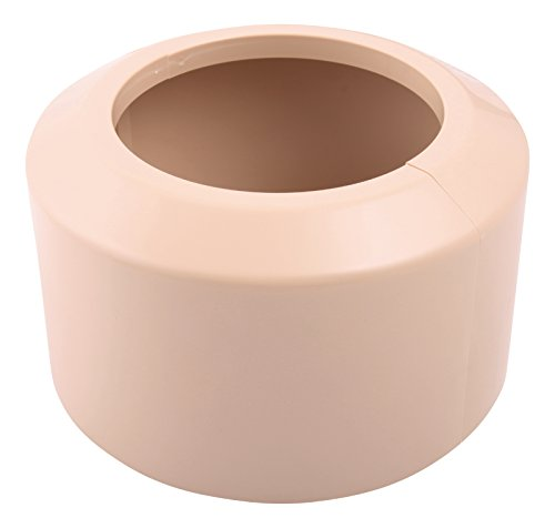 Sanitop-Wingenroth Étui de rosace pour coude de raccordement/Tuyau, 1 pièce, beige, 21774 3
