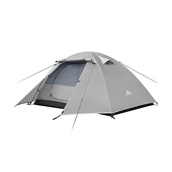 Forceatt 2 Person Camping Tent, Professional Waterproof & Windproof & Pest Proof. Lightweight Backpacking Tent Suitable for Outdoor and Travel