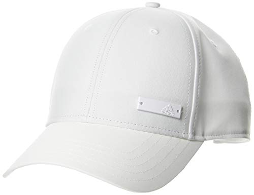 adidas Bballcap Lt Met Gorra, Unisex Adulto, White/White/White, OSFM