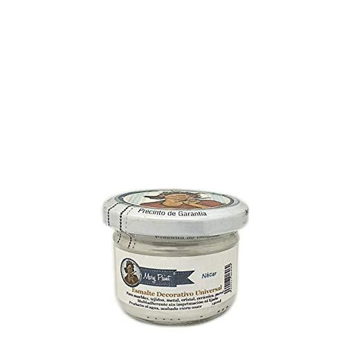 Mary Paint | Pintura para muebles efecto Chalk Paint, Nacar Metalizado - 140ml