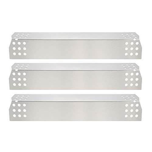 GFTIME 97371placa Calor 36.98 x 8.57cm Repuestos de Placa de Calor de Acero Inoxidable para Nexgrill 720-0783E 720-0830H 720-0896 720-0896B 720-0898 720 0896C, Grillmaster 720-0697 BBQ Grill (3pack)