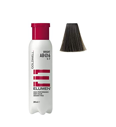 Goldwell Elumen Bright Haarfarbe 6 AB, 1er Pack, (1x 200 ml)