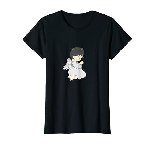 Ángel Cosume alas ángeles católicos Camiseta