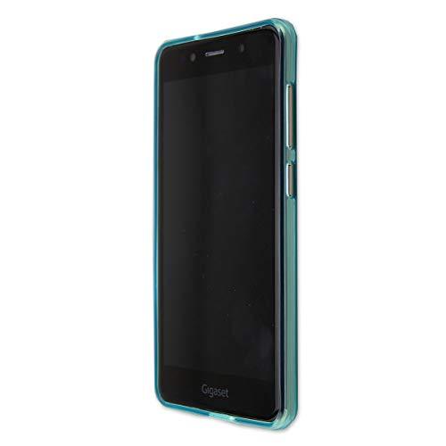 caseroxx TPU-Hülle für Gigaset GS180, Tasche (TPU-Hülle mit & ohne Bildschirmschutz) (TPU-Hülle, blau)