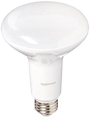 AmazonBasics 65 Watt Equivalent, Dimmable, BR30 LED Light Bulb