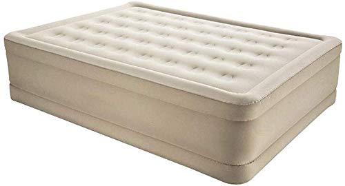MA Electric Mattress Air Bed Flocking Fabric Comfortable and Breathable Anti-Slip Function Built-in Electric Air Pump