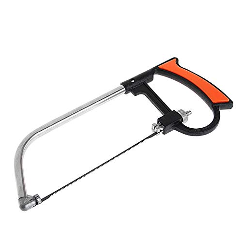 XiaoOu Scie d'élagage Mental Saw Hacksaw Hand for Wood Woodworking 6 Blades Multi Purpose Tool Kits