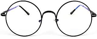 Retro Clear Lens Nerd Frames Glasses Vintage Round Full Metal Prince sunglasses