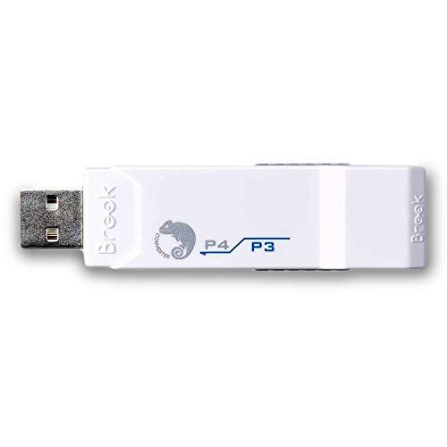 Controlador de juego Brook PS3 a PS4 Super Converter USB P4-WH