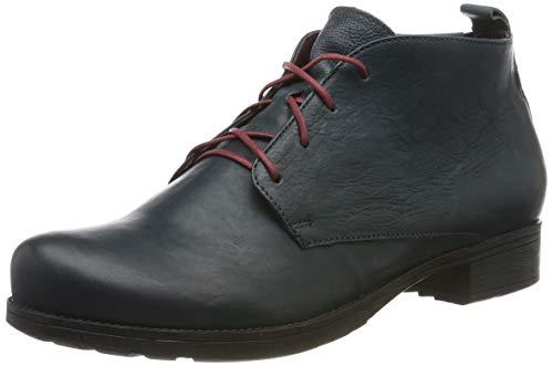 Think! Damen Denk_585018 Desert Boots, Blau (Atlantic/Kombi 88), 38 EU