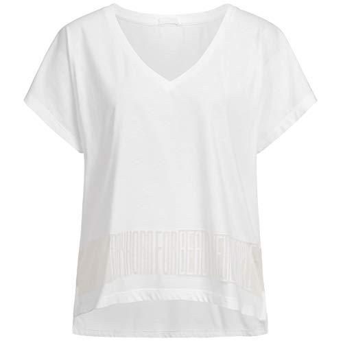 Drykorn Damen T-Shirt Svana Weiß S