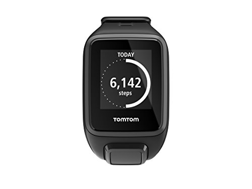 TomTom Runner 2 GPS Watch with Music and Bluetooth Headphones - Small Strap, Black/Anthracite