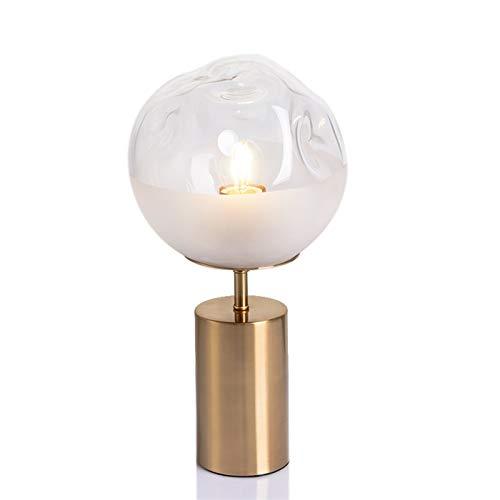 Dltmysh Lámpara de Mesa Dormitorio de Noche Concisa Artes originalidad de la Personalidad Lujoso luz de Estar Sala de Estudio Diseñador lámpara de Escritorio