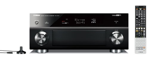 Yamaha RX-V 1071 7.2 AV Receiver (HDMI, Upscaler 1080p, 3D Ready, 165 Watt, Apple iPhone/iPod kompatibel, USB 2.0) schwarz