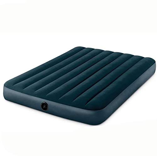GFRYY Air Beds Airbed Inflatable Blow Up Flocked Camping Mattress Guest Air Bed(Single Double) / 152 * 203 * 25cm
