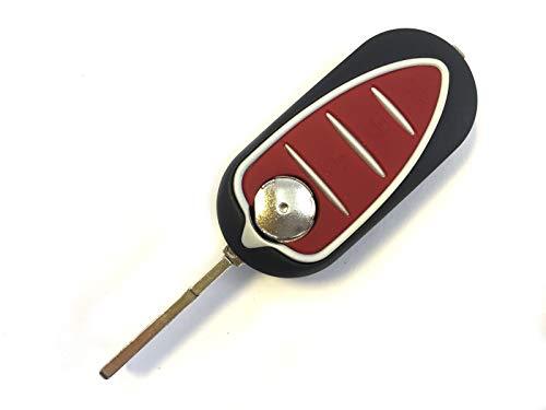 Sonic Carcasa para llave de coche Alfa Romeo Giulietta Mito con contacto de batería de 3 botones