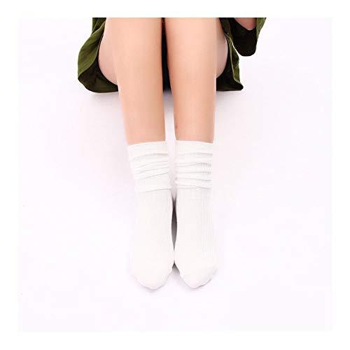 Clásico Transpirable Cómodo Calcetines de vestir 1 par extra largas de algodón pesado Slouch mujeres y hombres Slouch Calcetines colchoneta Calcetines, si no se presenta el Athletic calcetines deporti
