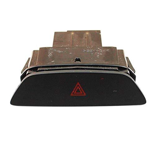 ZHENGYI Accesorios DE Coches Botón de Interruptor de luz de Peligro Emergencia Interruptor de luz de Emergencia Fort Ford FOFEST ST 2017 F1ET13A350AAW (Color : Black)