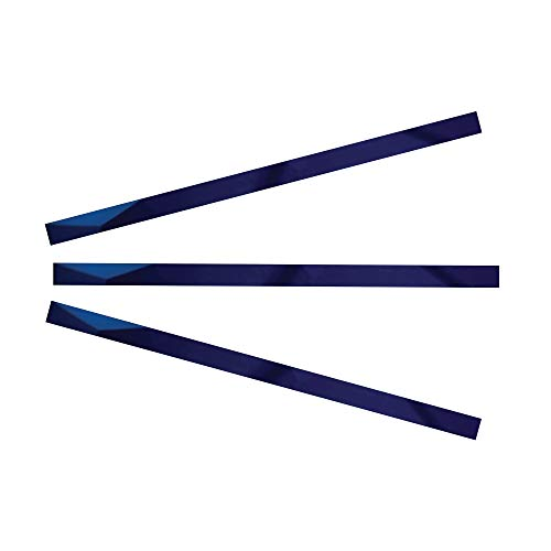 Kantu 2114012 Glass Pencil Tile Trim, Mirror, 3 Pack