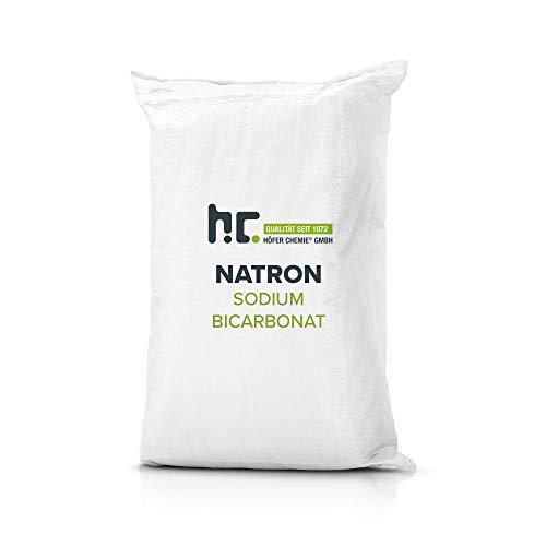 25 kg Natron Backsoda Natriumhydrogencarbonat in Lebensmittelqualität (Natriumbicarbonat- Backsoda - NaHCO3)