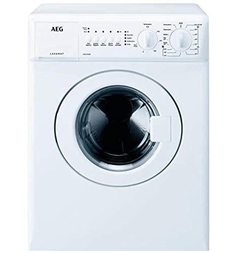 AEG L5CB31330 Waschmaschine mit nur 515 mm Tiefe / 3 kg / Kompakt Waschautomat / F / 1300 U/min / Startzeitvorwahl / Nachlegefunktion / Extra Kurz Programm
