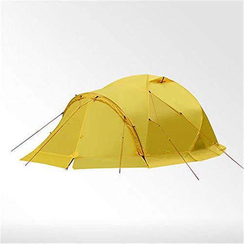 Zelten Family Camp Zelt Freien Alpine Wind und Schnee Zelt Snow Mountain Multi-Personen im Freien Vier Jahreszeiten Zelt for 3-4 Personen Wandern Zelt Beherbergungs