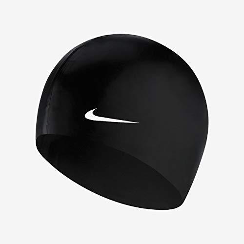 Nike x Bonnet de Natation Homme, Noir/Blanc, Taille Unique